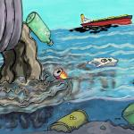 Dua Sungai di Semarang Tercemar Limbah Pabrik