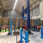 Pertama di Indonesia, Tol Semarang-Demak Dibangun Pakai Bambu