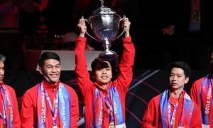 Kandaskan China 3-0, Indonesia Juara Thomas Cup 2020