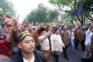 Kampanye Pilpres, Prabowo-Sandi 'Anak Emaskan' Pulau Jawa