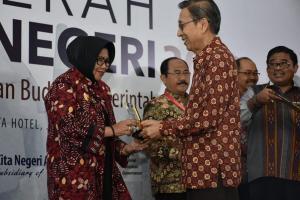 Pemkab Sleman Terima Anugerah Pandu Negeri 2018