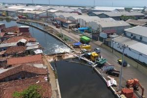 Pemkot Semarang Tutup 3 Muara Sungai