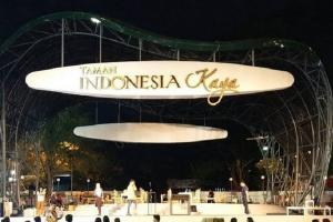 Ada Acara Fesyen, Jalan Menuju Taman Indonesia Kaya Ditutup