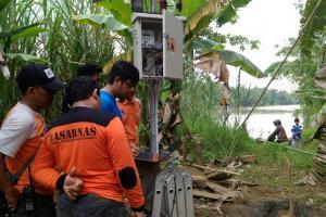 BPBD Kota Semarang Pasang 2 Alat EWS Banjir