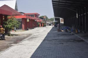 140 PKL Direlokasi ke Pasar Barito Baru
