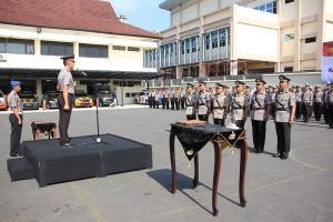 Beberapa Pejabat Polres Semarang Dimutasi