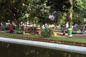 Taman Denggung Berpredikat Ruang Bermain Ramah Anak