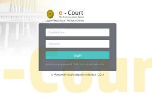 PN Purworejo Luncurkan Aplikasi e-Court