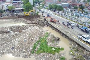 BBWS Pemali Juana Dirikan Posko Banjir di Pasar Waru