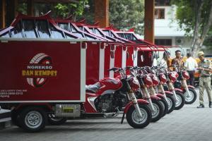 Pemkot Salurkan Motor Tambal Ban Daring