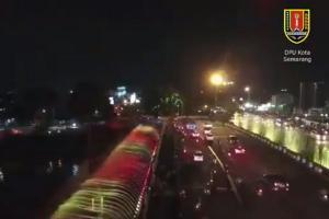 Pergantian Tahun, Pemkot Rilis 'Semarang Bridge Fountain'