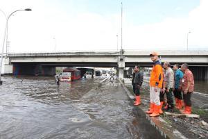 BBWS Pemali Juana Target Banjir Kaligawe Surut Hari Ini