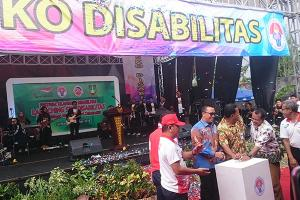 Menpora Resmikan SKO Disabilitas Surakarta