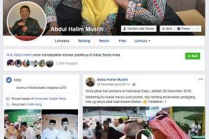 Akun Facebook Wabup Bantul Diretas