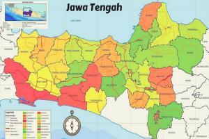 Empat Daerah di Jateng Rawan Tsunami