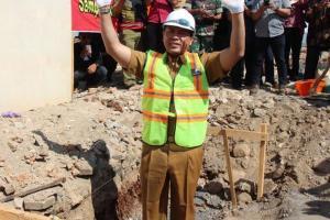 Hari ini, Tenggat Rekanan Selesaikan Proyek Pasar Purwantoro