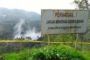 Waspadai Gas Beracun di 3 Kawah Jateng