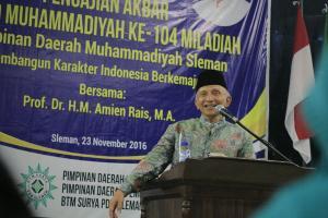 Amien Rais Emoh Seriusi Tuntutan Goenawan Mohamad dkk