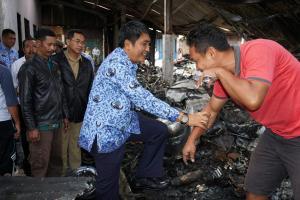 Bupati Magelang Instruksikan Pendirian Pasar Kaponan Sementara