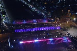 Jadwal Main Semarang Bridge Fountain Berkurang