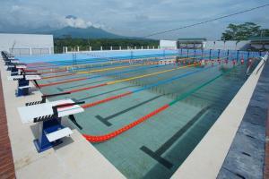 Proyek Kolam Renang Pusat Olahraga Sanden Magelang Selesai