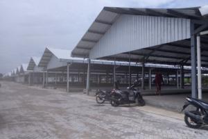 Pembangunan Pasar Wonodri Semarang Molor
