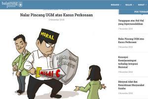 Polda DIY Periksa Penulis Balairung UGM