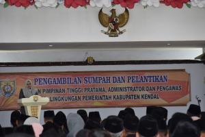Bupati Kendal Lantik 261 Pejabat