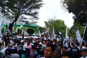 Polisi: Massa Tablig Akbar Solo Diajak Coblos Prabowo