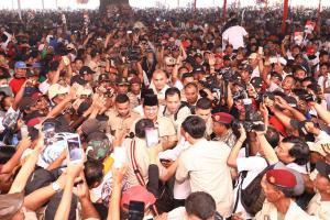 Singgung Impor Beras, Prabowo: Ini Membingungkan Rakyat