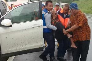 Pimpinan DPRD Kendal Alami Kecelakaan