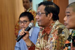 Kelakar Mahfud Md soal Tabloid Indonesia Barokah