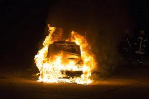 Polisi Gandeng BIN Usut Teror Pembakaran Kendaraan Bermotor