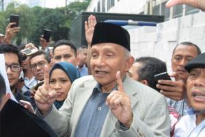 Slamet Maarif Diperiksa, Amien Rais: Jokowi Maunya Apa?