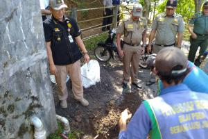 BBWS Pemali Juana Tutup Depo Air Gunung Muria