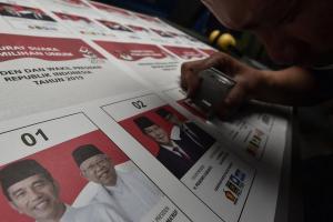 KPU Salatiga Terima Surat Suara Pilpres 2019