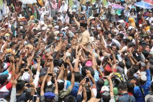 Setelah Boyolali, Kini Prabowo Sebut 'Tampang Grobogan'