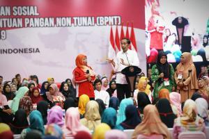 April 2019, Jokowi: Pencairan PKH-BPNT Tahap 2