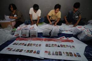 Distribusi Surat Suara Pileg di Jateng Baru 70 Persen