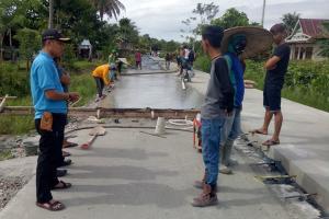 Infrakstruktur Sleman Akan Pakai Beton