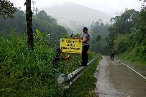 Waspadai Jalur Rawan Longsor di Banjarnegara