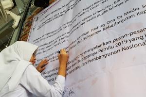 Pegiat Medsos Harap Pemilu 2019 tanpa Hoaks