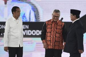Janji Jokowi dan Prabowo ihwal Tata Kelola Pemerintah