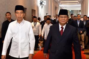 Puji dan Curhat Jokowi-Prabowo