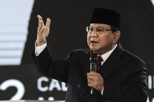Prabowo Ungkit Pengerahan Aparat dalam Pemilu