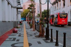 Penataan Pedestrian MT Haryono Semarang Dilanjut 2020