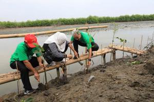 Kagama Reboisasi Pantai Kartika Jaya