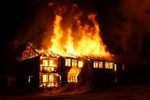 Sebab Pabrik Kacang Garuda Terbakar