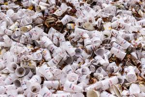 Siswa TK Kemala Bhayangkari Kampanye Antisampah Plastik
