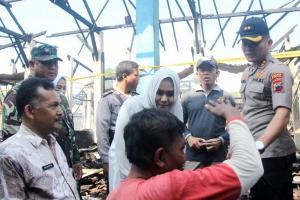 Pedagang Pasar Magangan Direlokasi di Depan Balai Desa